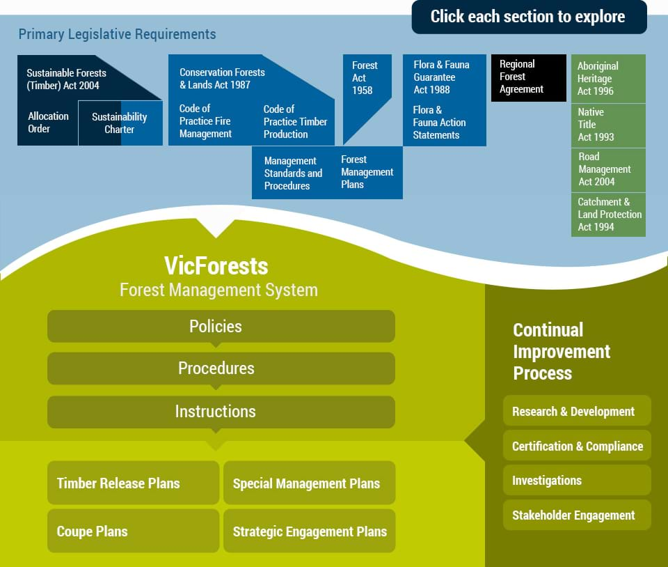 VicForests Forest Management